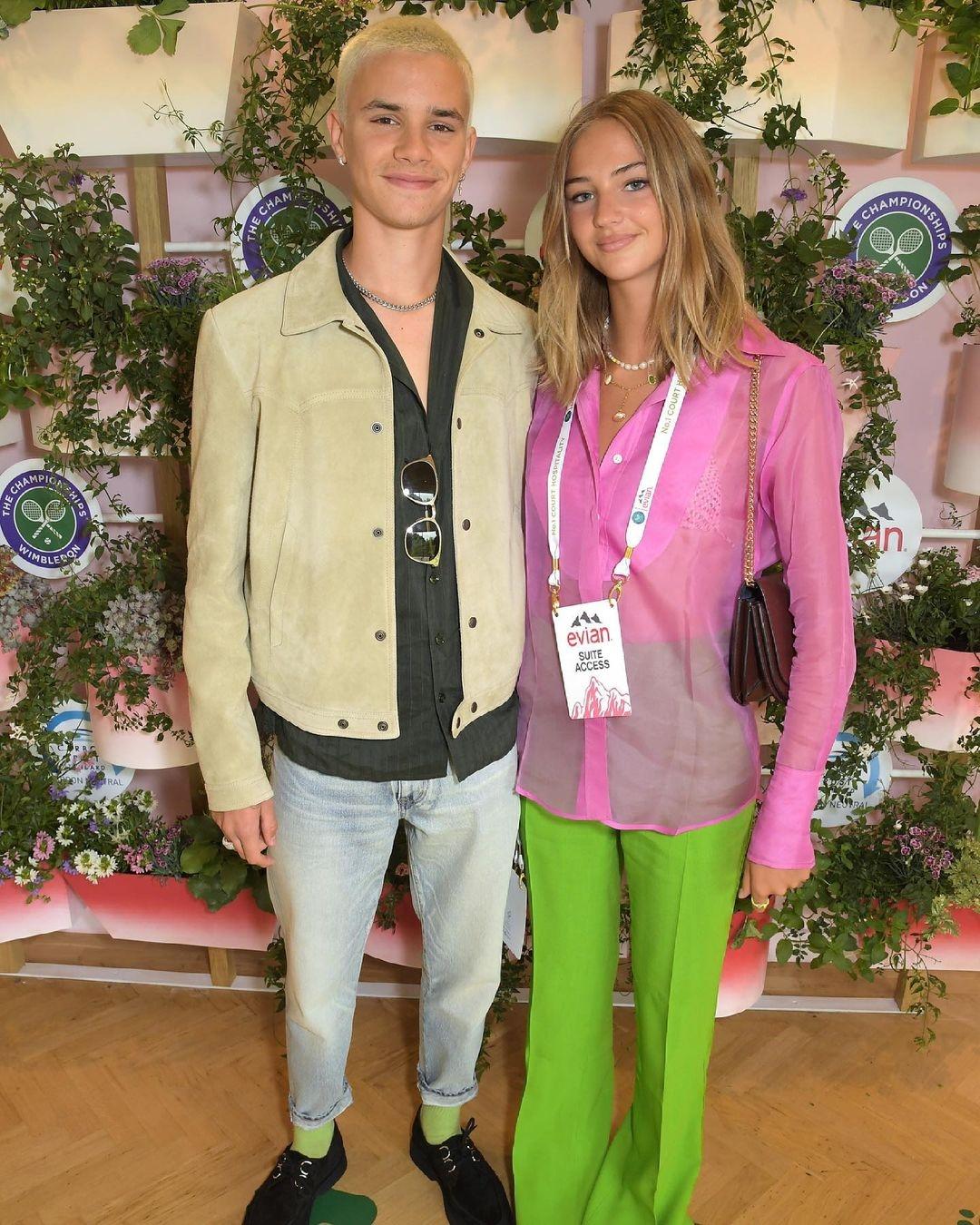 Все серьезно: Ромео Бекхэм впервые вышел в свет вместе со своей девушкой (ФОТО) - фото №1