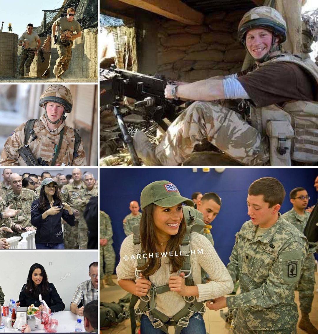 меган и гарри об афганистане