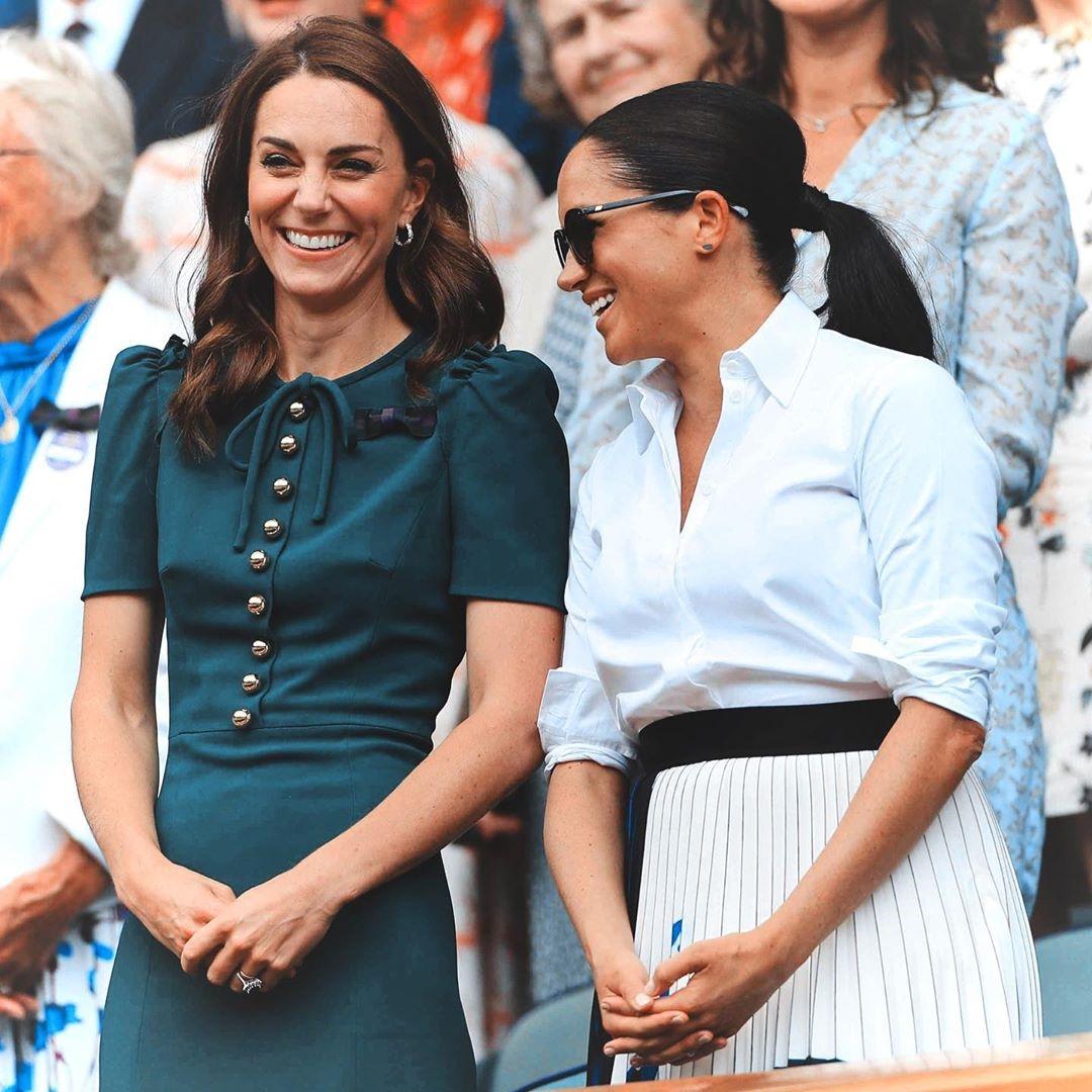 как меган и гарри поздравили кейт миддлтон с днем рождения