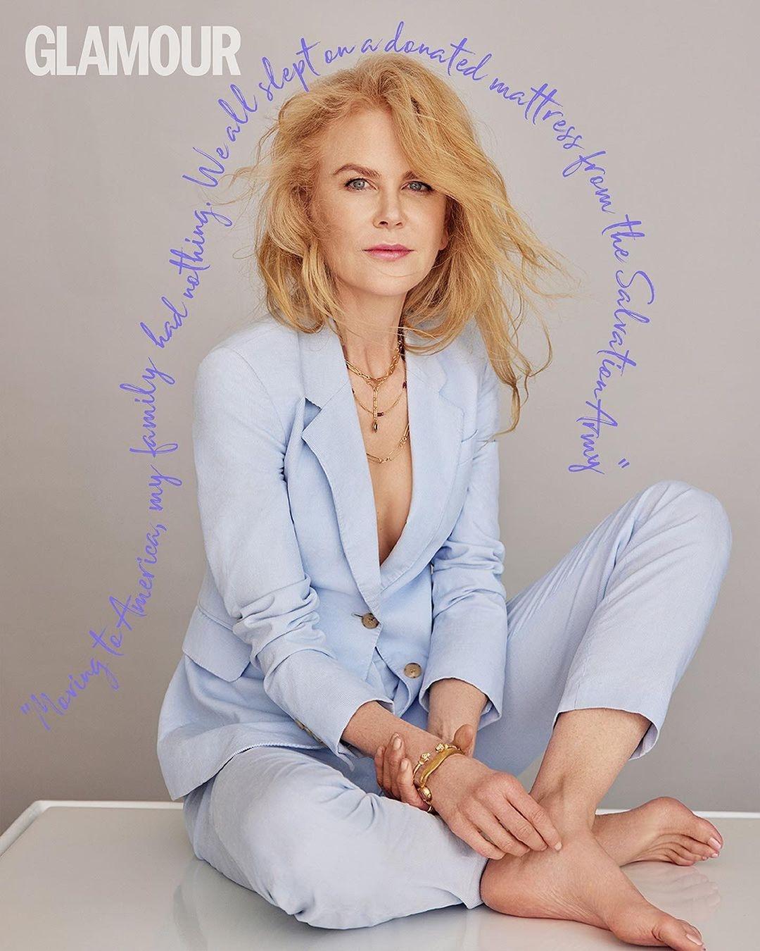 Николь Кидман украсила обложку Glamour и рассказала о комплексах в подростковом возрасте (ФОТО) - фото №4