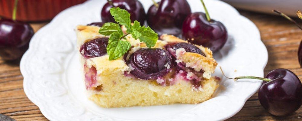 рецепт пирога с черешнями
