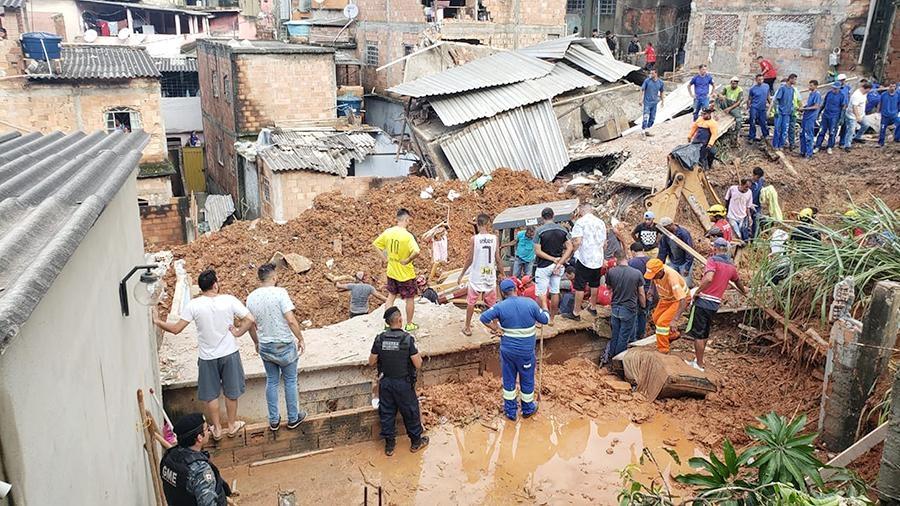 потоп в бразилии
