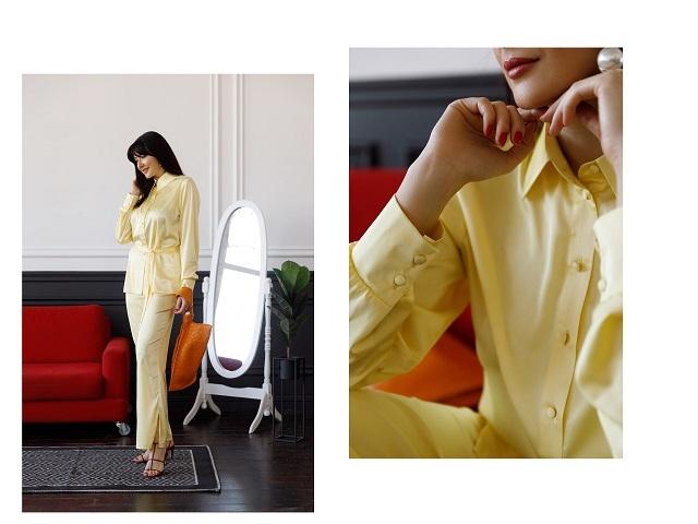 Красота даже на карантине: новая коллекция одеждыOne by One X Olga Ternova - фото №1