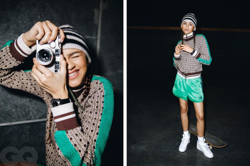 """""""Люди считали меня надменной"""": звезда """"Эйфории"""" Зендая снялась для обложки GQ и рассказала о своих трудностях (ФОТО) - фото №3"""