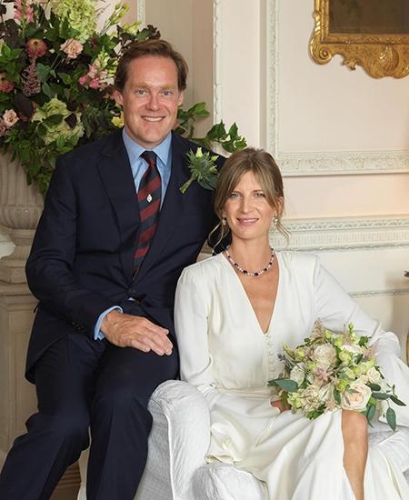 Самый завидный холостяк Великобритании герцог Роксбургский женился - фото №2