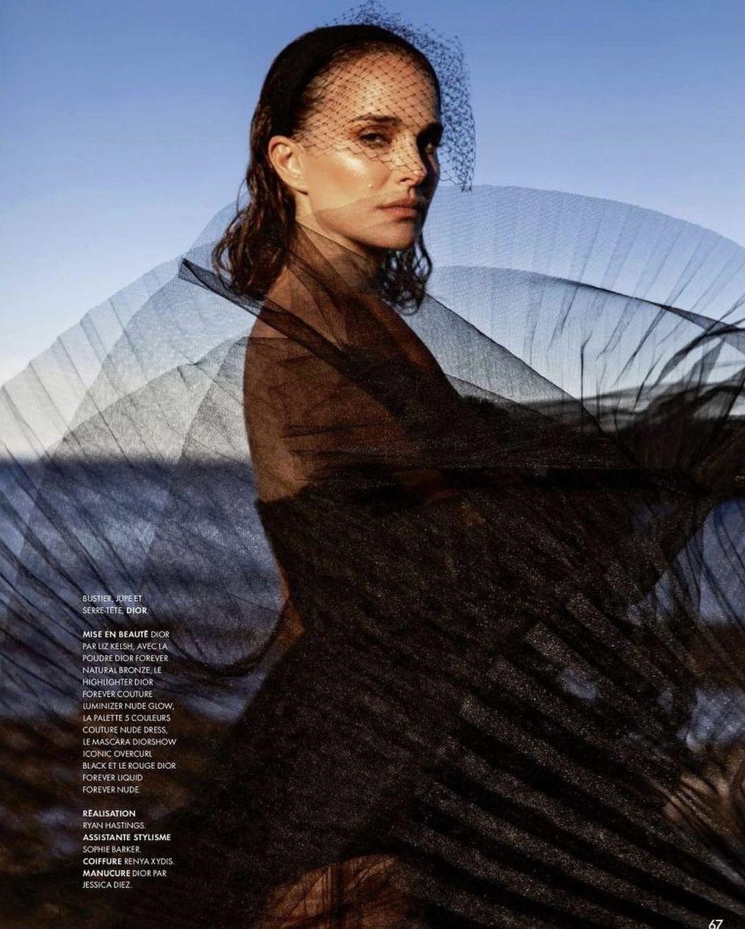 Натали Портман украсила обложку известного глянца (ФОТО) - фото №1