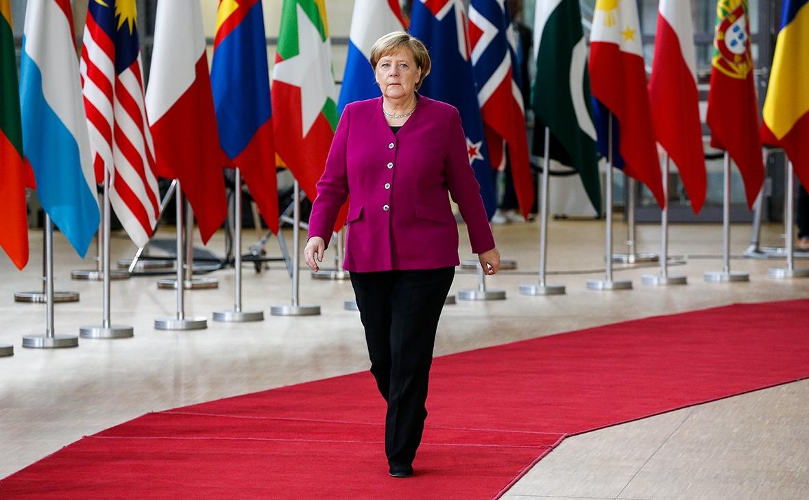 Ангела Меркель отправилась на карантин - фото №1