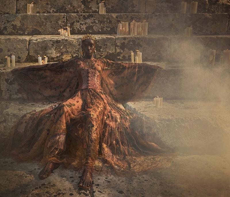 Мифы, музы и богини. Смотрите новую рекламную кампанию Christian Dior (ФОТО+ВИДЕО) - фото №2