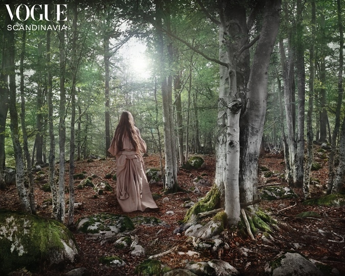 грета тунберг Vogue Scandinavia