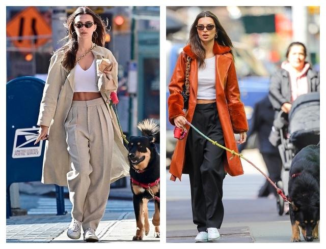 В чем знаменитости ходят на прогулку: уроки стиля на карантине (ФОТО) - фото №4