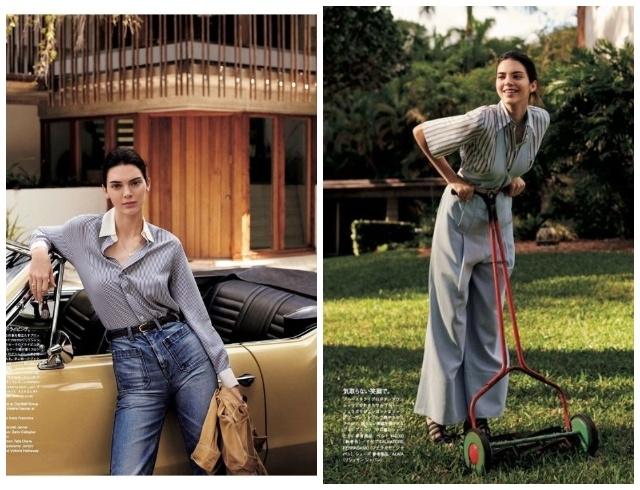 Кендалл Дженнер украсила обложку японского Vogue и показала, как носить главные тренды этого лета (ФОТО) - фото №3
