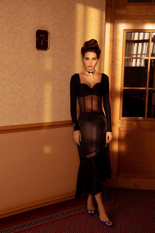Будуарные пижамы, белье и боди в новой коллекции Fox Lingerie (ФОТО) - фото №4