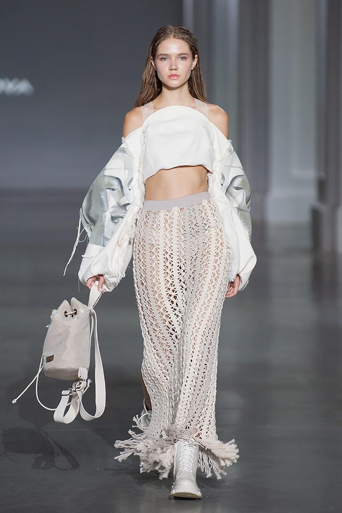 Новое поколение моды: знакомимся с молодыми дизайнерами, которые представили свои коллекции в рамках Ukrainian Fashion Week noseason sept 2021 - фото №9