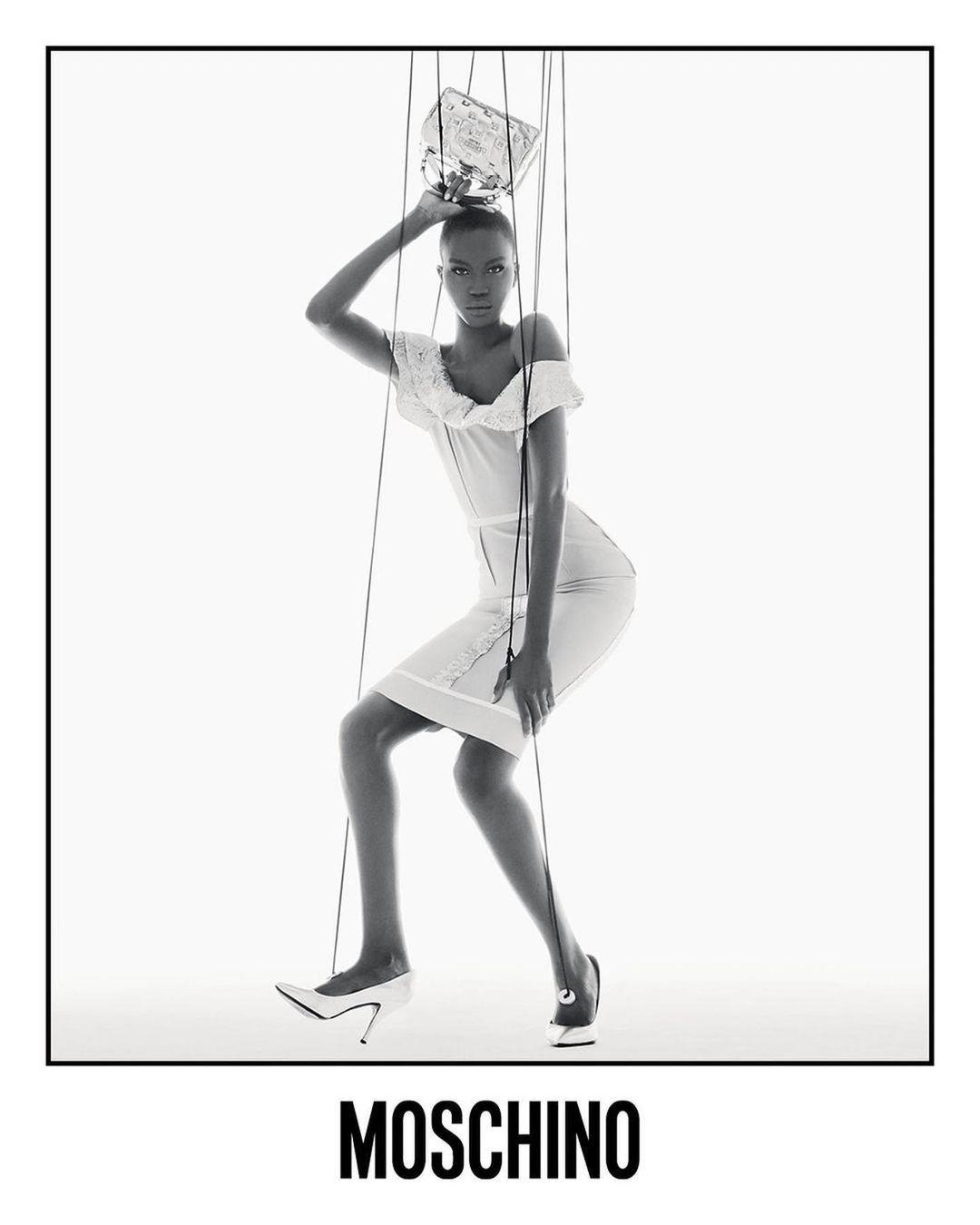 Ирина Шейк и Белла Хадид превратились в марионеток в новой рекламе Moschino (ФОТО) - фото №4