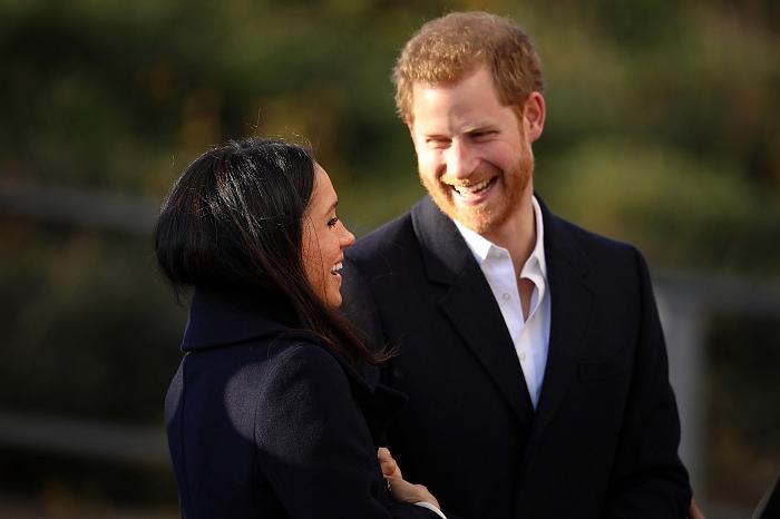 Принц Гарри и Меган Маркл: подборка трогательных кадров герцогов Сассекских - фото №15