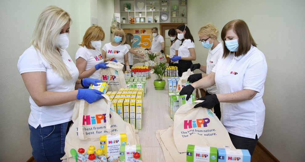 HiPP Украина запускает социальный проект помощи одиноким мамам с малышами