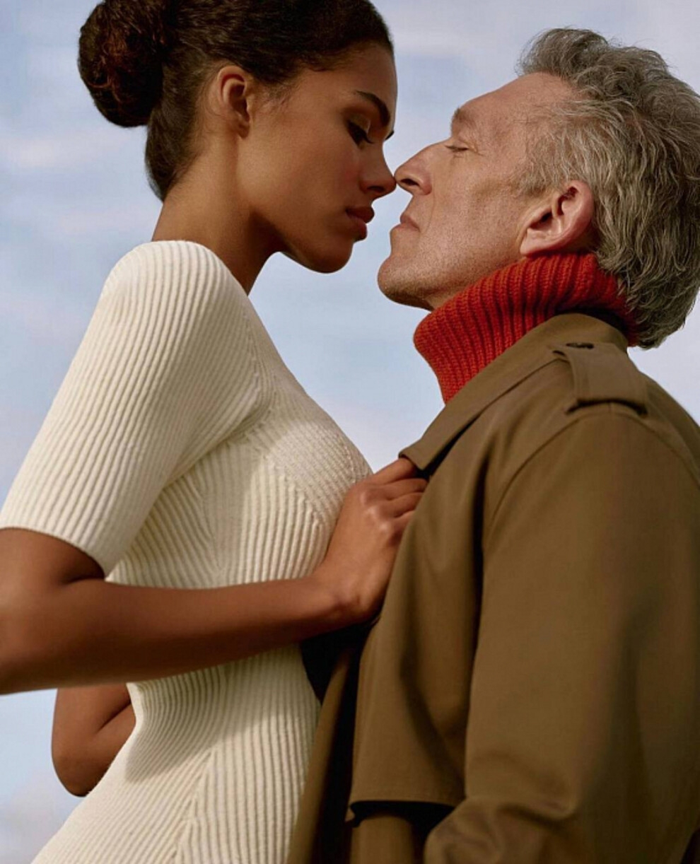 Чувственная пара: Венсан Кассель и Тина Кунаки стали главными героями рекламной кампании The Kooples (ФОТО) - фото №3