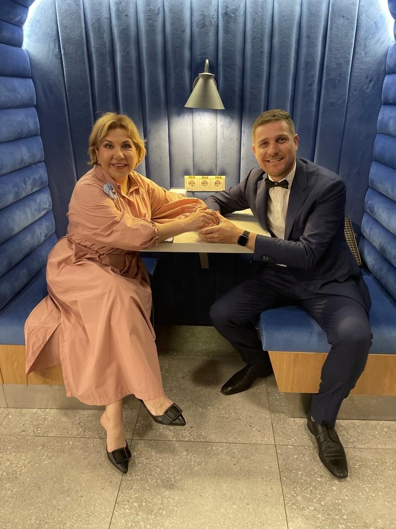 Итальянский муж Марины Федункив рассказал об отношении его мамы к 49-летней невестке - фото №2