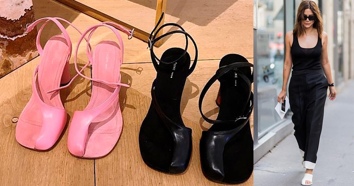 Еще один тренд, который вас удивит: обувь с открытым большим пальцем - фото №4