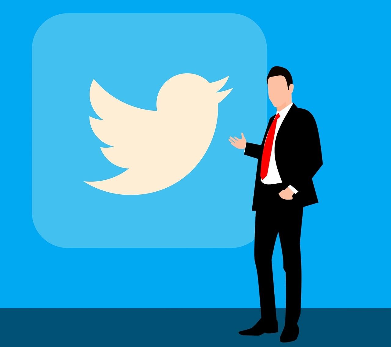 Tвиттер значек
