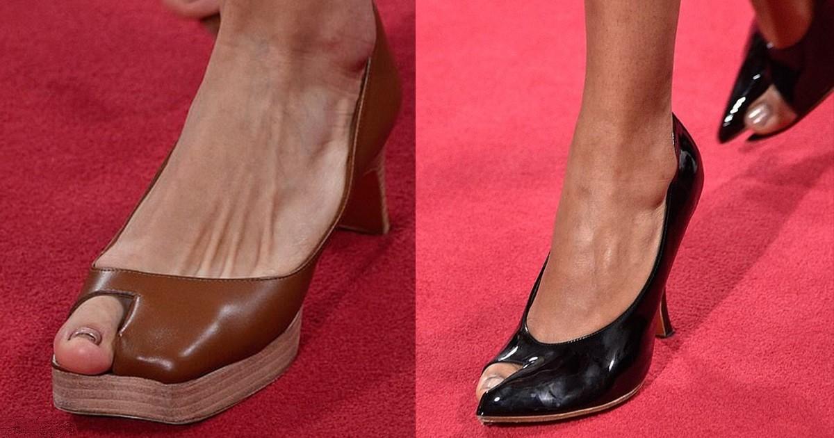 Еще один тренд, который вас удивит: обувь с открытым большим пальцем - фото №2