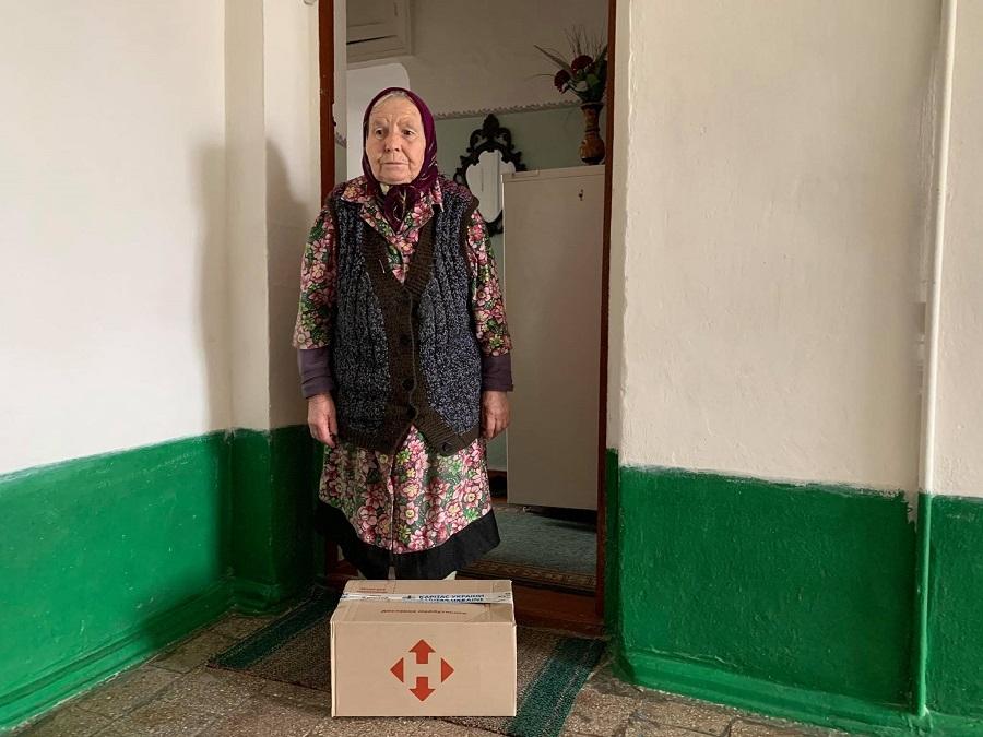 """Доставка заботы: 300 бабушек и дедушек из Украины получили продуктовые наборы в рамках проекта """"ДоБаДе"""" - фото №2"""