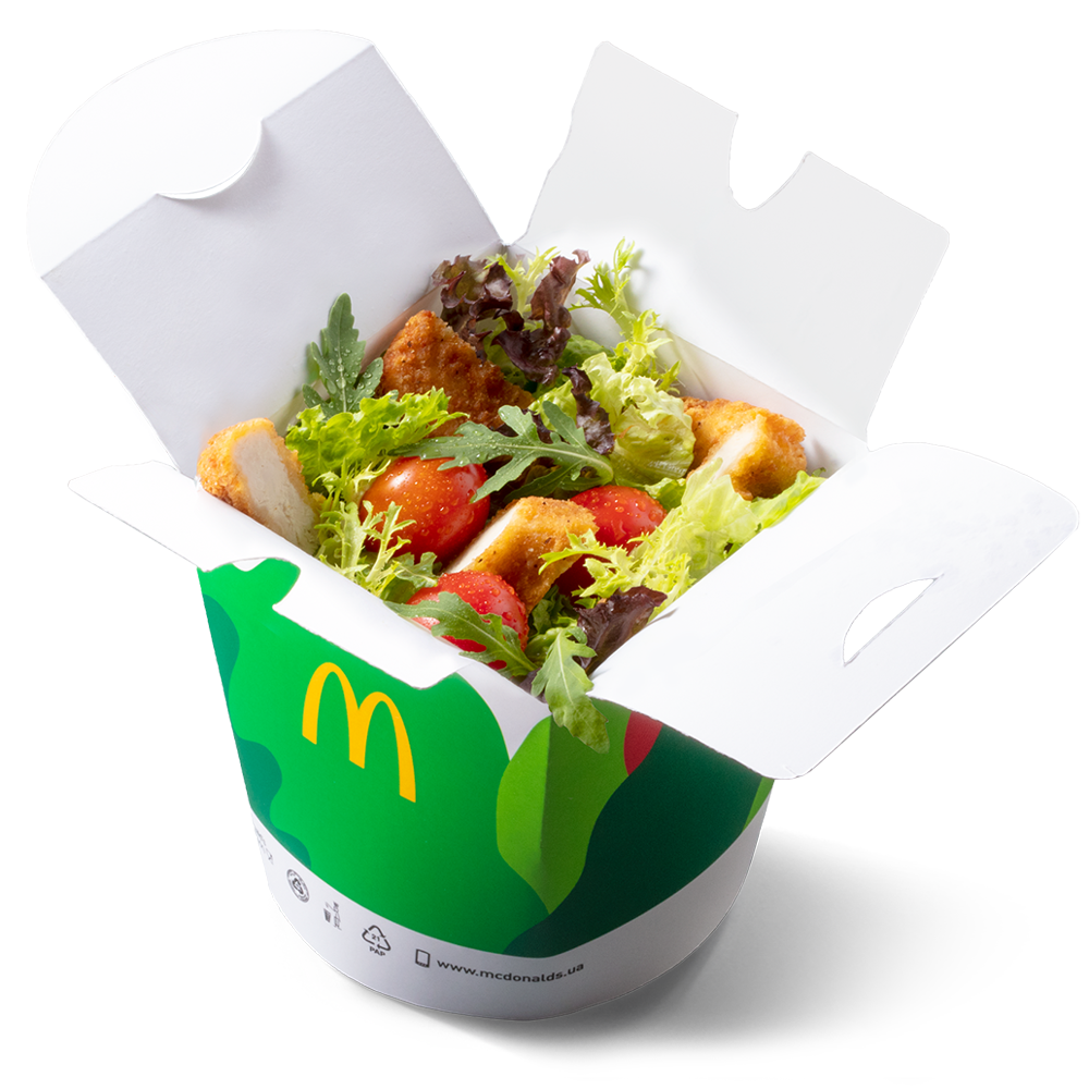 новые салаты в макдональдз