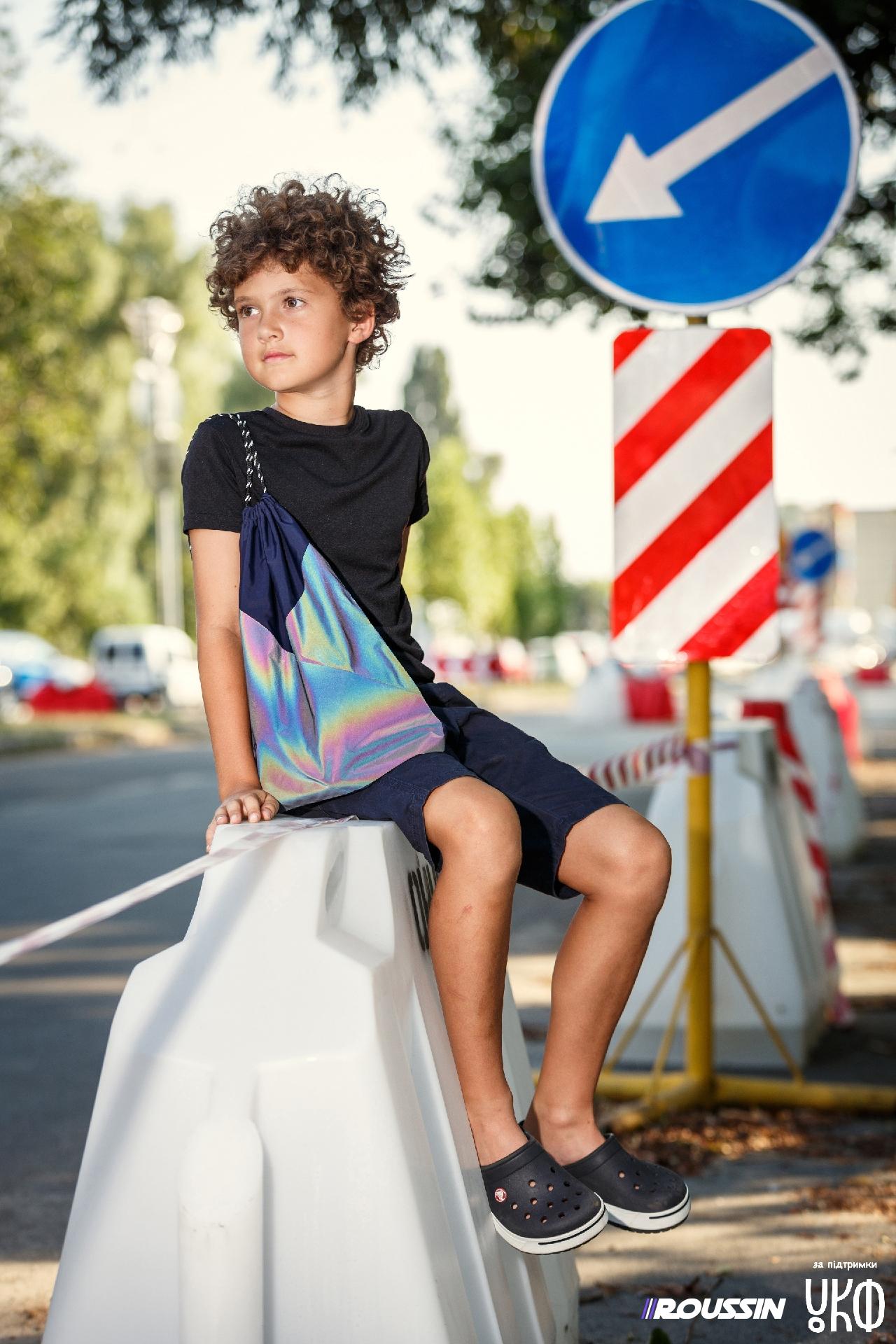 Ответственная мода: проект украинского бренда ROUSSIN продолжает уменьшать количество  ДТП с участием пешеходов - фото №1