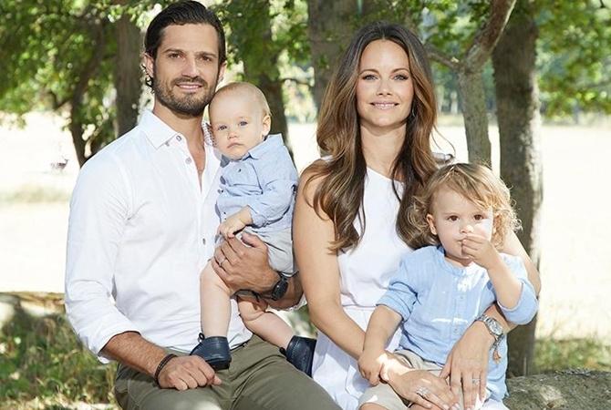 Принц Швеции Карл Филипп и принцесса София в третий раз стали родителями - фото №1