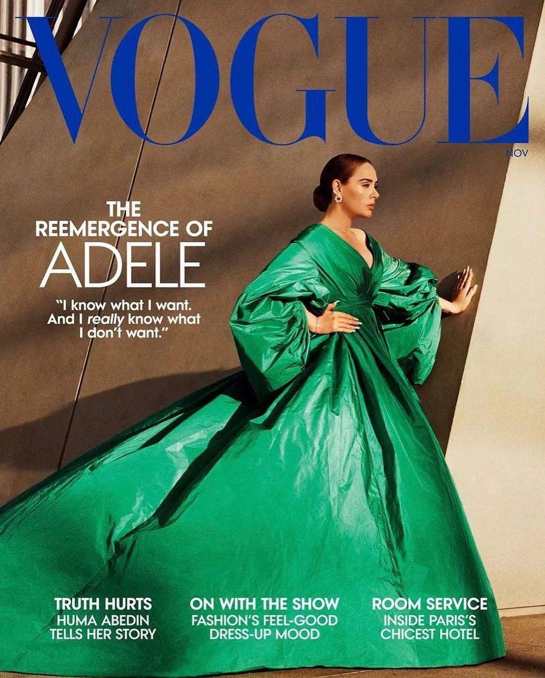 адель Vogue 2021