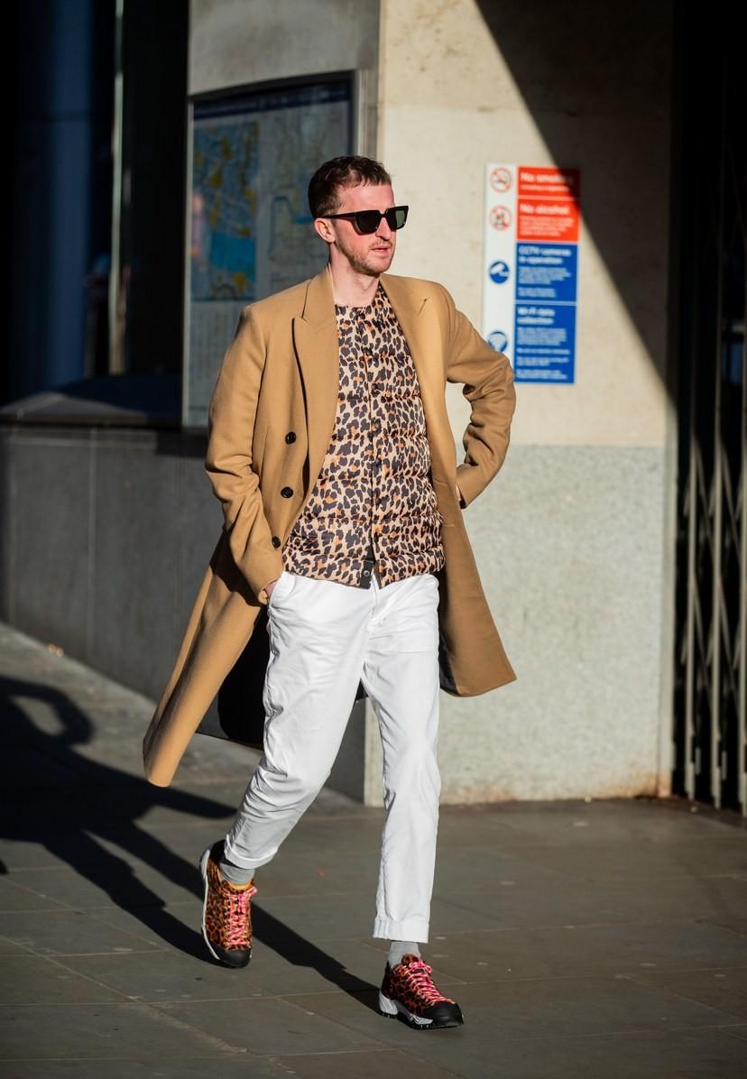 Мужская неделя моды в Лондоне: лучшие стритстайл-образы - фото №4