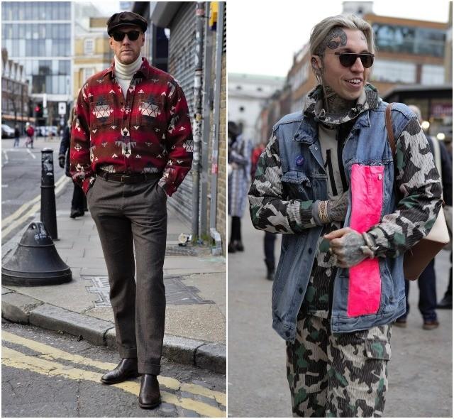 Мужская неделя моды в Лондоне: лучшие стритстайл-образы (ФОТО) - фото №26