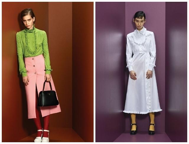 Ярко, строго и элегантно: Prada представили новую коллекцию Pre-Fall —2020 (ФОТО) - фото №1