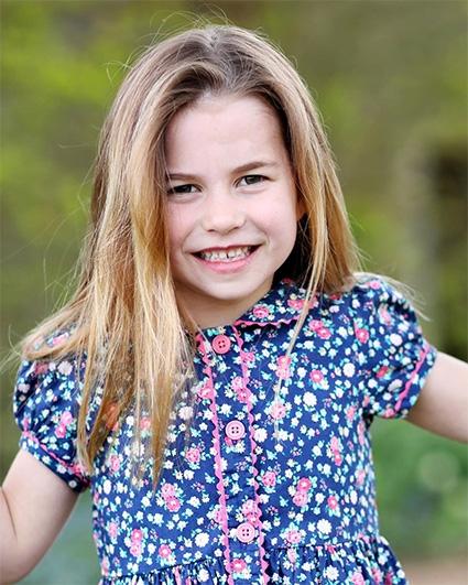 Принцесса Шарлотта отмечает День рождения: новое фото именинницы - фото №1