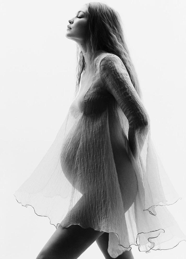 джиджи хадид беременна фото