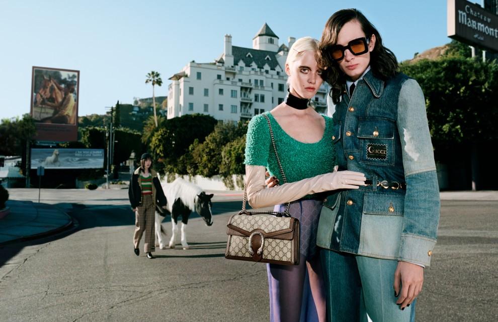 Главные герои новой компании Gucci ... лошади (ФОТО) - фото №2