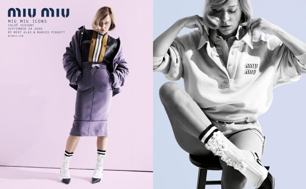 Женственность и индивидуальность в новой рекламной кампании Miu Miu Icons (ФОТО) - фото №1