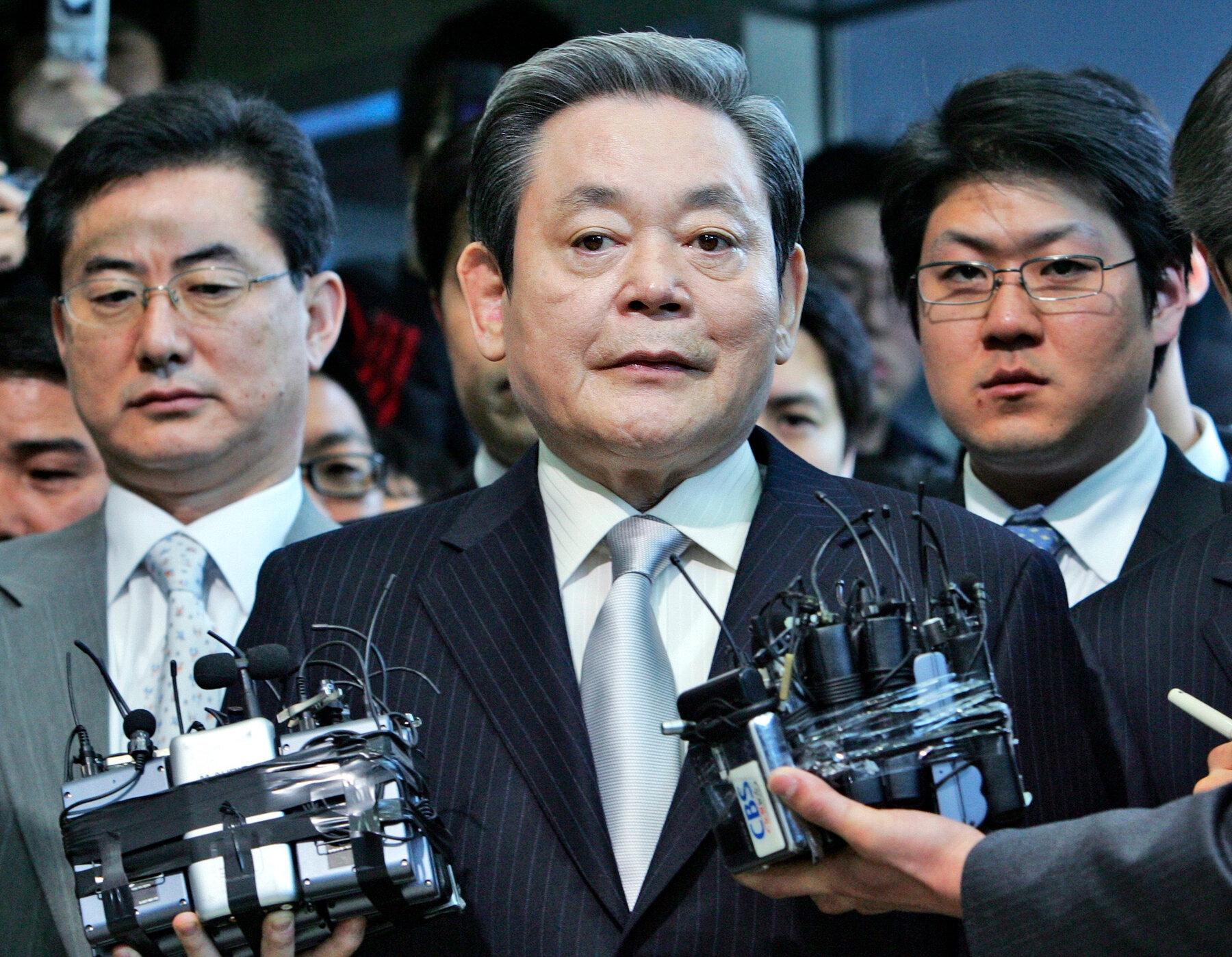 глава Samsung Ли Гон Хи фото