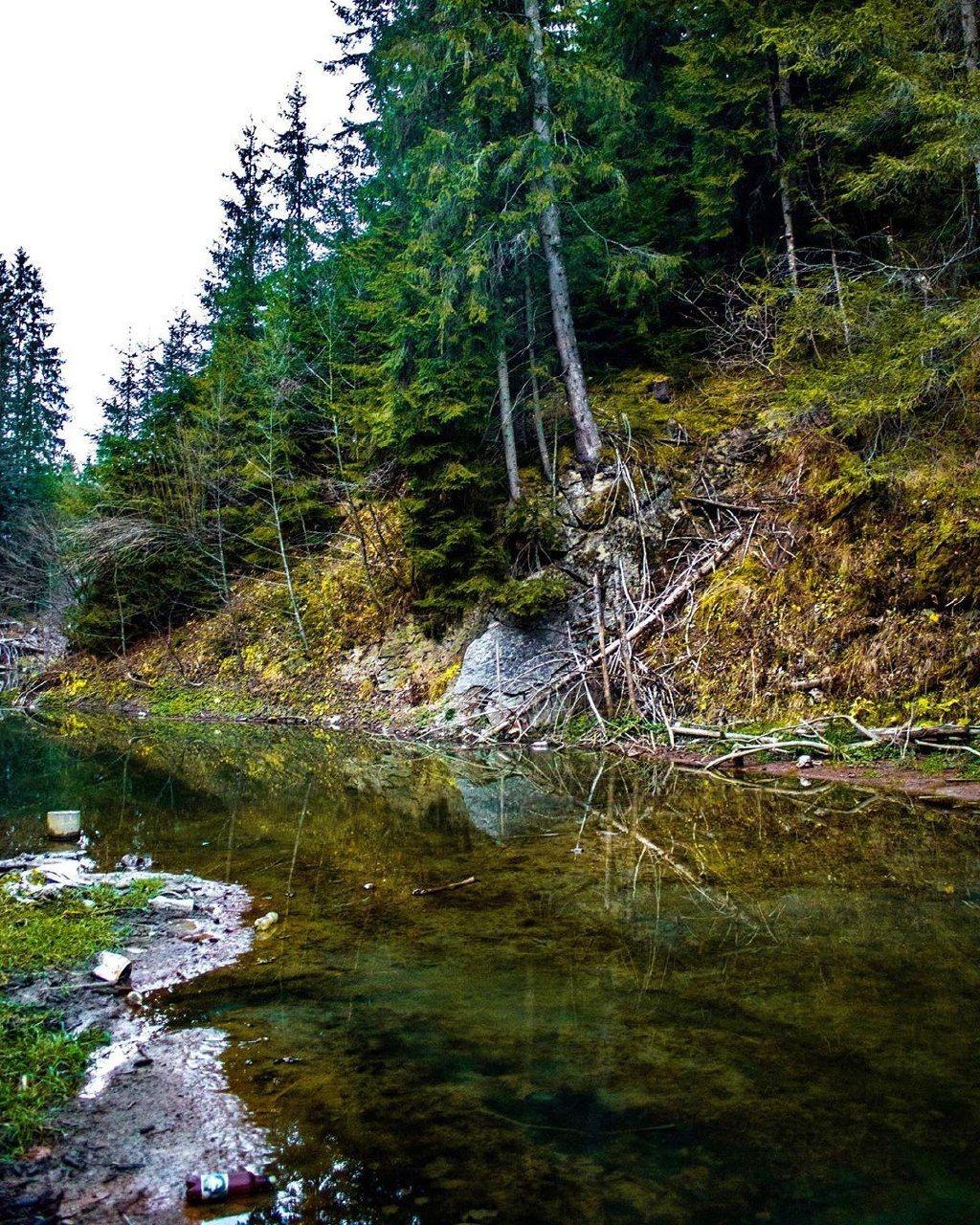 Исчезло озеро Кривое