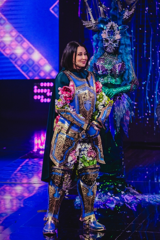 "Рыцарь сердец: Наталья Мосейчук спела на сцене шоу ""Маскарад"" (ВИДЕО) - фото №3"