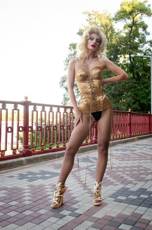 """На """"Супер Топ-модели по-украински"""" дефилировала Мадонна? Эксклюзивные фото - фото №4"""