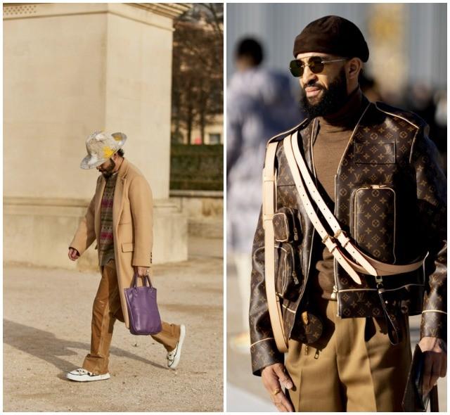 Что носят в Париже: стритстайл-образы гостей французской мужской Недели моды - фото №30