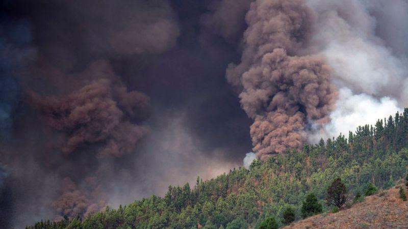 На Канарских островах началось извержение вулкана: жителей экстренно эвакуируют (ФОТО) - фото №3