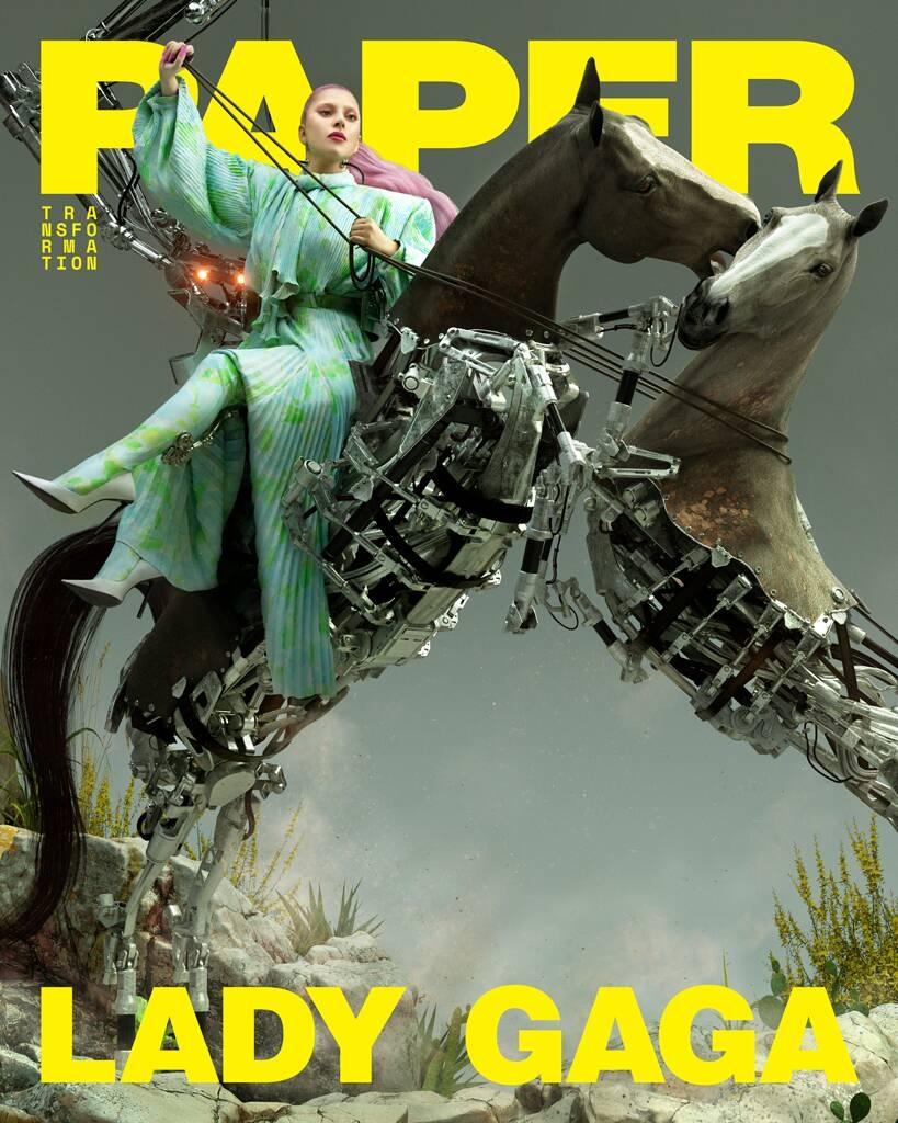 Обнаженная Леди Гага в эпатажной фотосессии для Paper (ФОТО) - фото №2