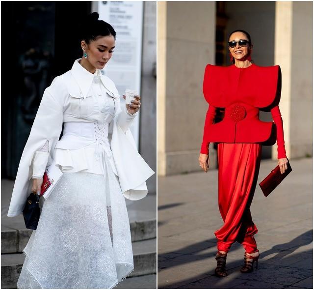 Стритстайл на Неделе высокой моды в Париже: как носить кутюр каждый день - фото №15