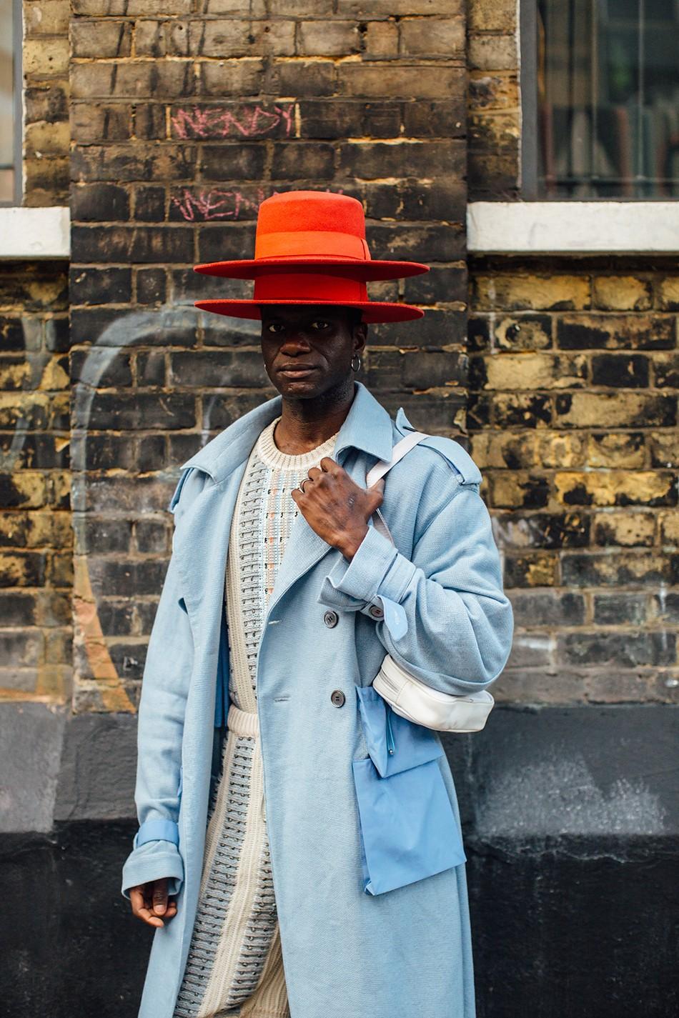 Мужская неделя моды в Лондоне: лучшие стритстайл-образы - фото №8
