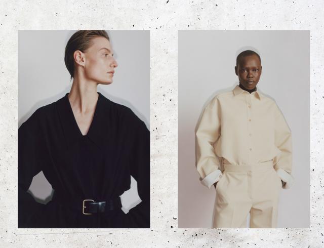 Знаменитые близнецы: Мэри-Кейт и Эшли Олсен представили новую коллекцию своего бренда The Row. - фото №7