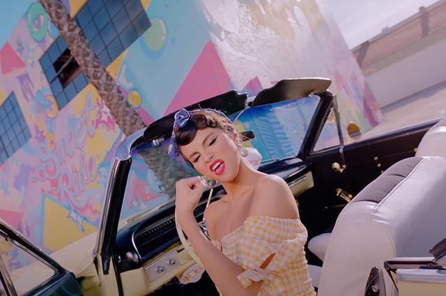 """Селена Гомес и K-pop группа Blackpink выпустили очень """"вкусный"""" клип на песню Ice Cream (ВИДЕО) - фото №2"""