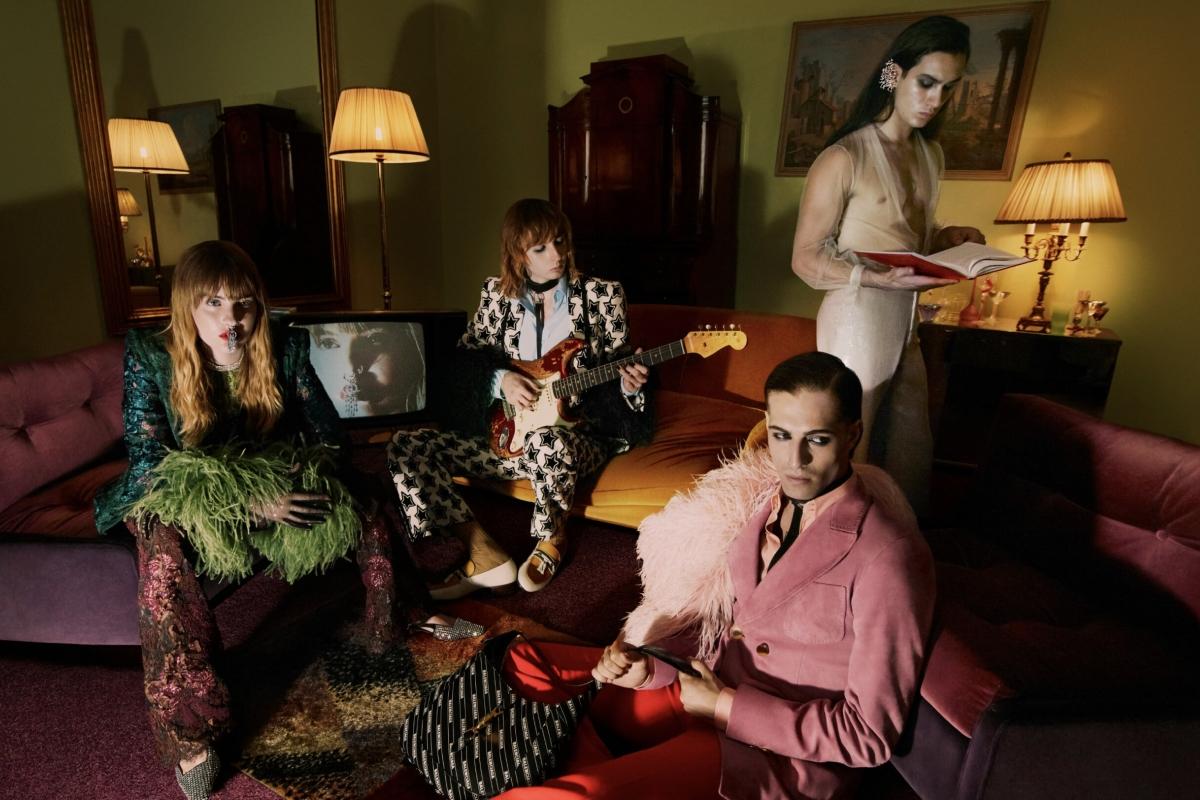 Группа Måneskin снялась в рекламе новой коллекции Gucci (ФОТО) - фото №2