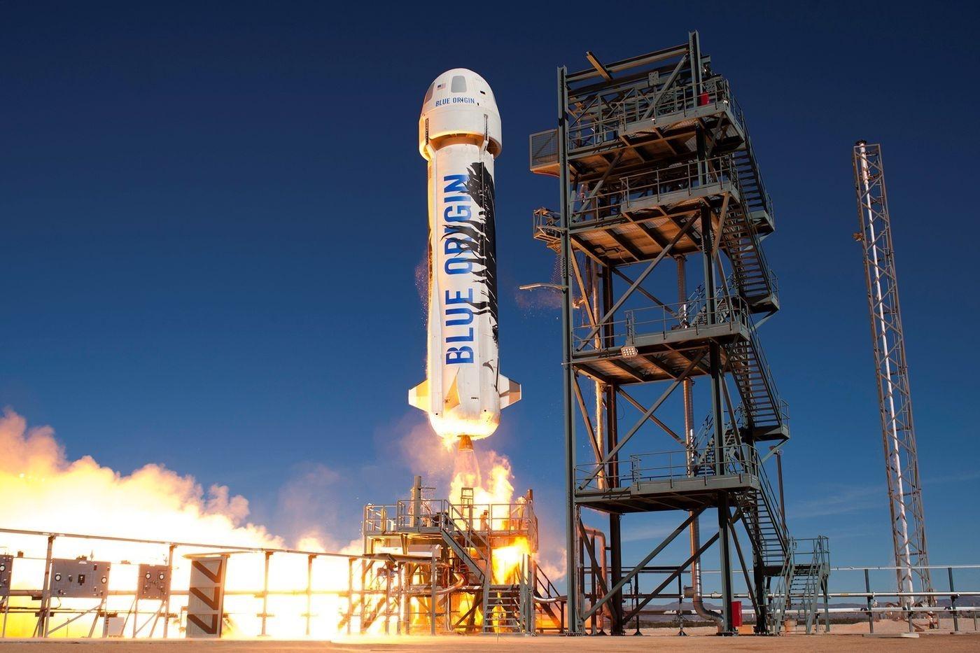 Миллиардер Джефф Безос впервые слетал в космос: смотрите, как это было (ФОТО+ВИДЕО) - фото №3